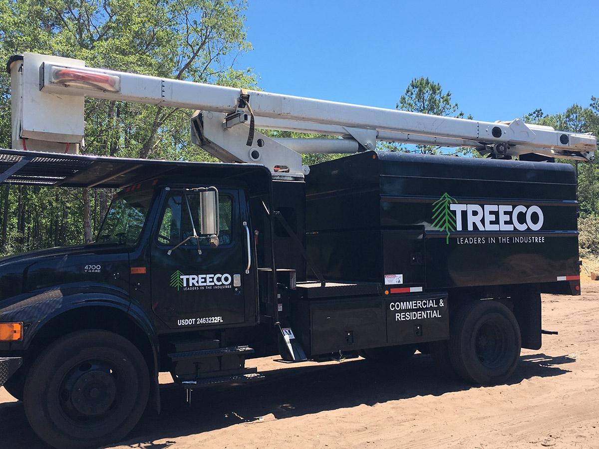 treeco truck-st augustine-jacksonville fl